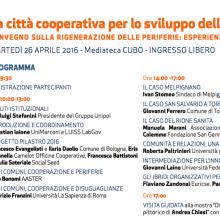 La città cooperativa per lo sviluppo delle periferie